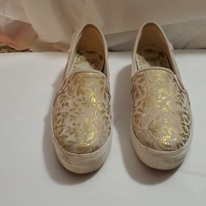 KEDS RIFLE PAPER CO. TRIPLE DECKER SLIP ON SZ 8